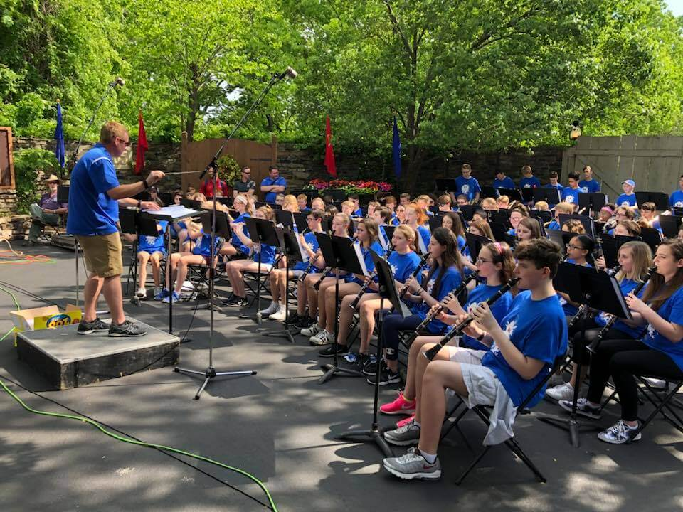 7th and 8th Grade Silver Dollar City Concert 5-12-18