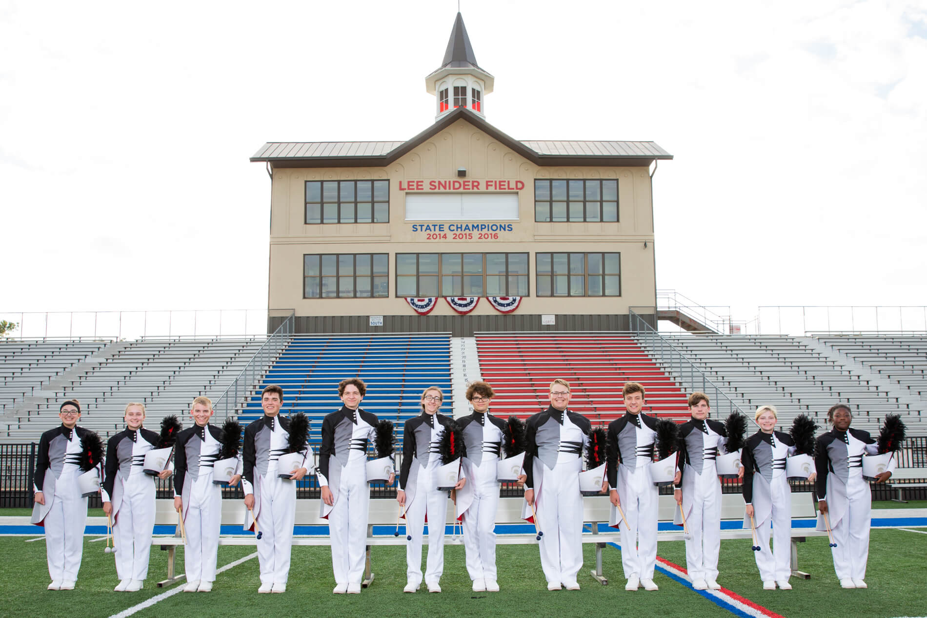 2018 Pride of Bixby Front Ensemble
